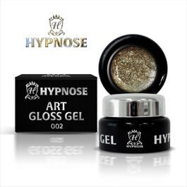 Гель-паста Hypnose Art Gloss Gel - 002, Gold bar, 5мл