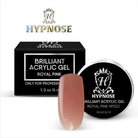 Hypnose Brilliant Acrylic Gel Royal Pink №2, 15 мл