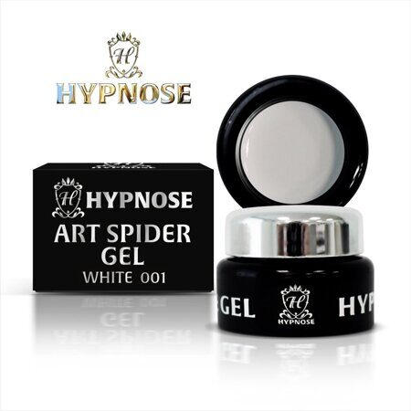 Гель-паста Hypnose Art Spider Gel - 001, White, 7мл