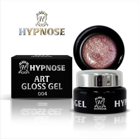 Гель-паста Hypnose Art Gloss Gel - 004, Young rose, 5мл